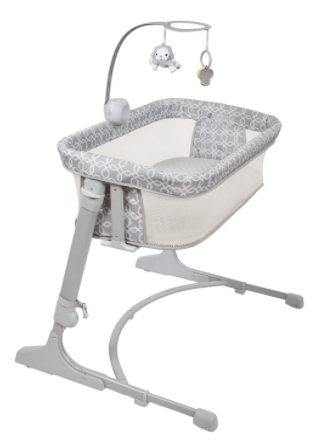 baby co sleeper attaches to bed