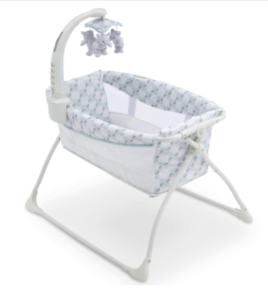 This image has an empty alt attribute; its file name is Sleeper-Bedside-Bassinet.png