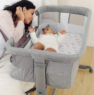 baby bassinet that connects to bed