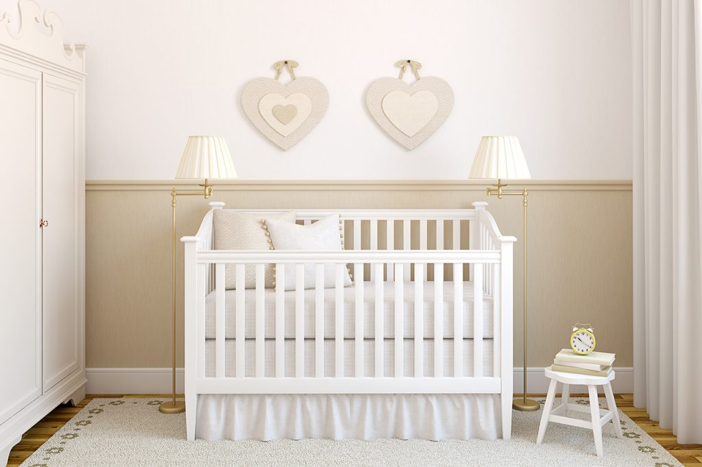 Tips for moving baby into own room