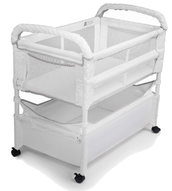 This image has an empty alt attribute; its file name is Arms-Reach-Clear-Vue-Bassinet.png