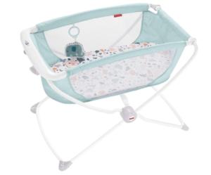 compact size foldable rocking bassinet