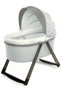foldable wooden bassinet